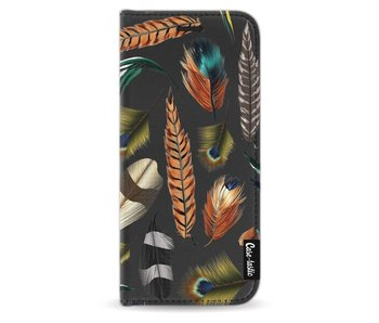 Feathers Multi - Wallet Case Black Samsung Galaxy S9