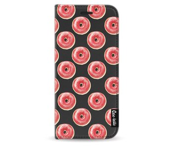 All The Donuts - Wallet Case Black Samsung Galaxy S9