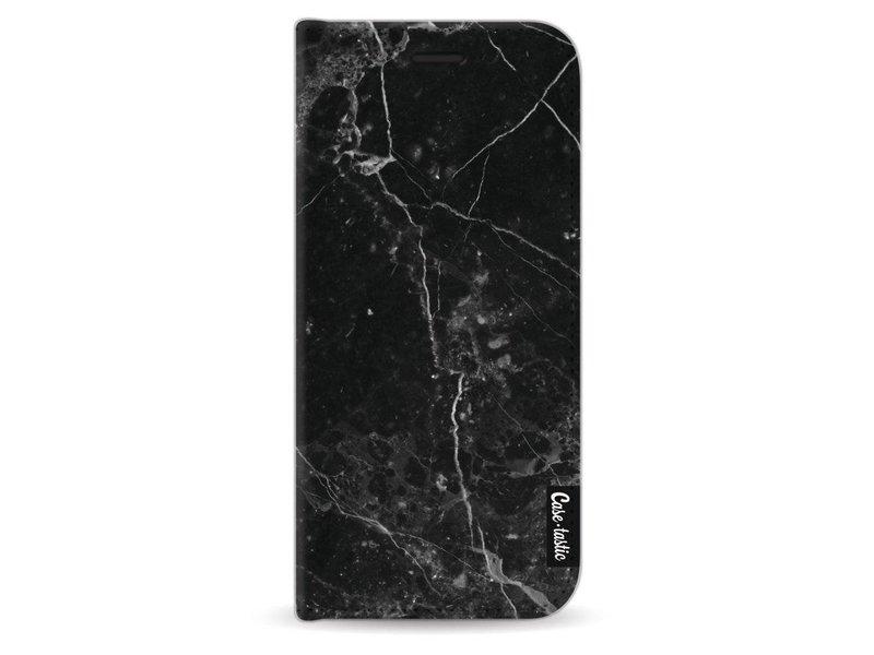 Casetastic Wallet Case Black Samsung Galaxy S9 - Black Marble