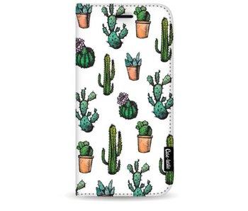 Cactus Dream - Wallet Case White Samsung Galaxy S9 Plus