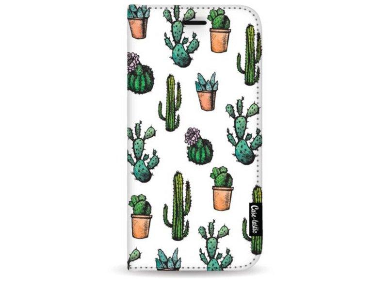 Casetastic Wallet Case White Samsung Galaxy S9 Plus - Cactus Dream