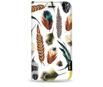 Feathers Multi - Wallet Case White Samsung Galaxy S9 Plus