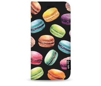 Macaron Mania - Wallet Case Black Samsung Galaxy S9 Plus