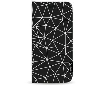 So Many Lines! White - Wallet Case Black Samsung Galaxy S9 Plus