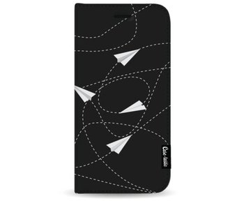 Paperplanes - Wallet Case Black Samsung Galaxy S9 Plus