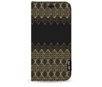 Golden Diamonds - Wallet Case Black Samsung Galaxy S9 Plus