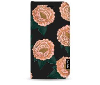 Winterly Flowers - Wallet Case Black Samsung Galaxy S9 Plus