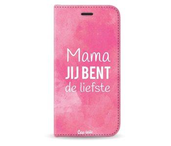 Mama jij bent de liefste - Wallet Case Black Apple iPhone X