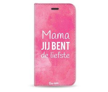 Mama jij bent de liefste - Wallet Case White Apple iPhone X