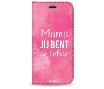 Mama jij bent de liefste - Wallet Case Black Apple iPhone 7 Plus / 8 Plus