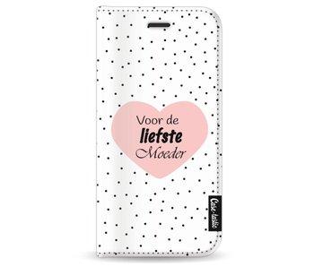 Voor de liefste moeder - Wallet Case White Apple iPhone 7 / 8