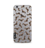 Casetastic Softcover Apple iPhone 6 / 6s - Teckel Twister