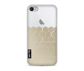 Golden Hexagons - Apple iPhone 8