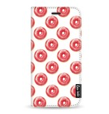 Casetastic Wallet Case White Samsung Galaxy A8 (2018) - All The Donuts