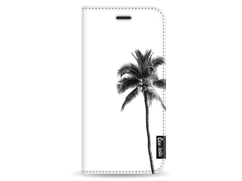 Casetastic Wallet Case White Samsung Galaxy A8 (2018) - Palm Tree Transparent