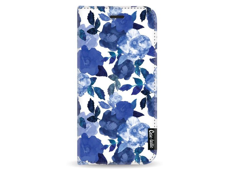 Casetastic Wallet Case White Samsung Galaxy A8 (2018) - Royal Flowers
