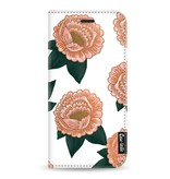 Casetastic Wallet Case White Samsung Galaxy A8 (2018) - Winterly Flowers
