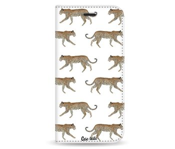 Hunting Leopard - Wallet Case White Samsung Galaxy A8 (2018)