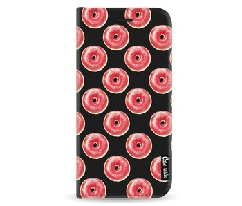 All The Donuts - Wallet Case Black Samsung Galaxy A8 (2018)