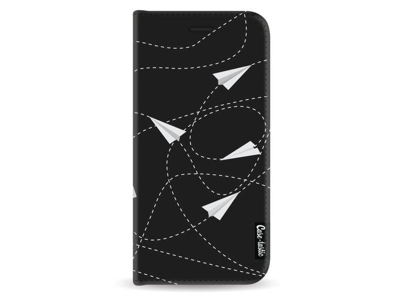 Casetastic Wallet Case Black Samsung Galaxy A8 (2018) - Paperplanes