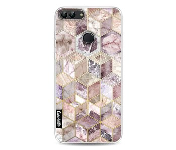 Blush Quartz Honeycomb - Huawei P Smart