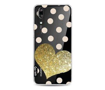 Glitter Heart - Huawei P20