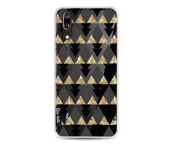 Gold Black Triangles - Huawei P20