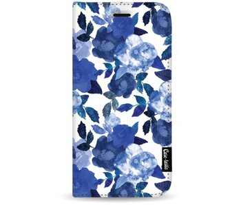 Royal Flowers - Wallet Case White Apple iPhone 8 Plus