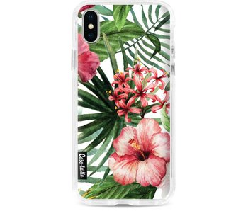 Tropical Flowers - Dual Snap Case Apple iPhone X