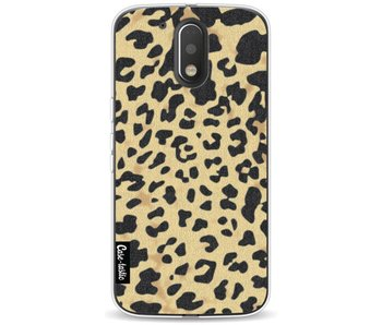 Leopard Print Sand - Motorola Moto G4 / G4 Plus