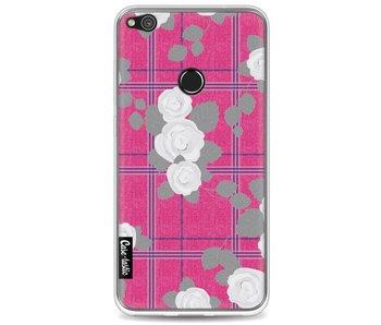 Flower Tartan Pink - Huawei P8 Lite (2017)