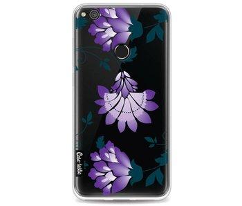 Purple Dahlia Flower - Huawei P8 Lite (2017)