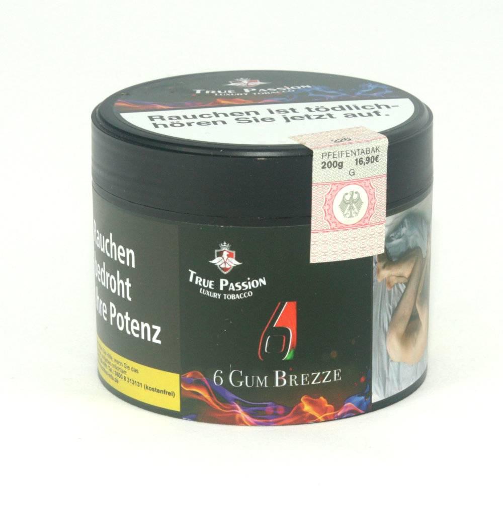 True Passion True Passion - 6 Gum Breeze 200g