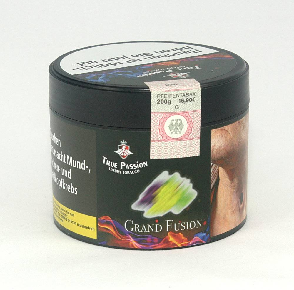 True Passion True Passion - Grape Fusion 200g