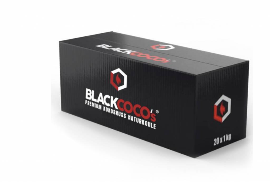 Black Coco Black Cocos 20Kg Box - Plastikverpackung