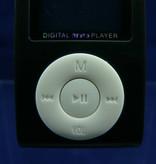 MP3-Player mit LCD-Display in schwarz