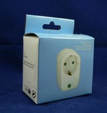 Netz- und Überspannungsschutz Zwischenstecker 1fach (Schutz vor Überspannung und Blitzeinschlag)