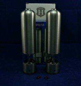 H-Line Elektromühlen Set, Salz- und Pfeffermühle