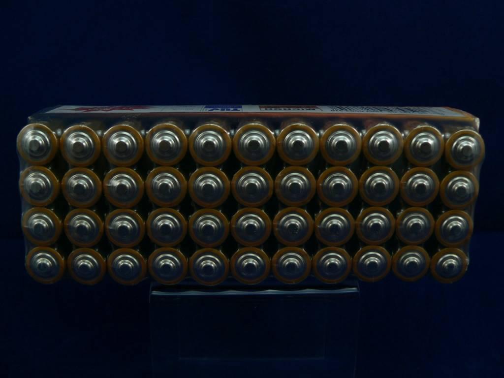 44 Stück Ansmann Premium Alkaline Batterien im Mega Spar Pack (Typ AA oder AAA)