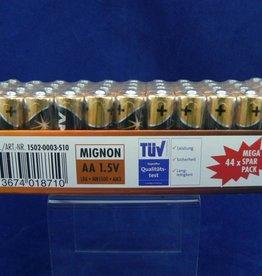 44 Stück Ansmann Premium Alkaline Batterien im Mega Spar Pack