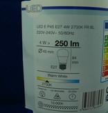 LED-Lampe in Birnen-/Tropfenform, 4W, E27, 220V, 250lm, Warmweiß