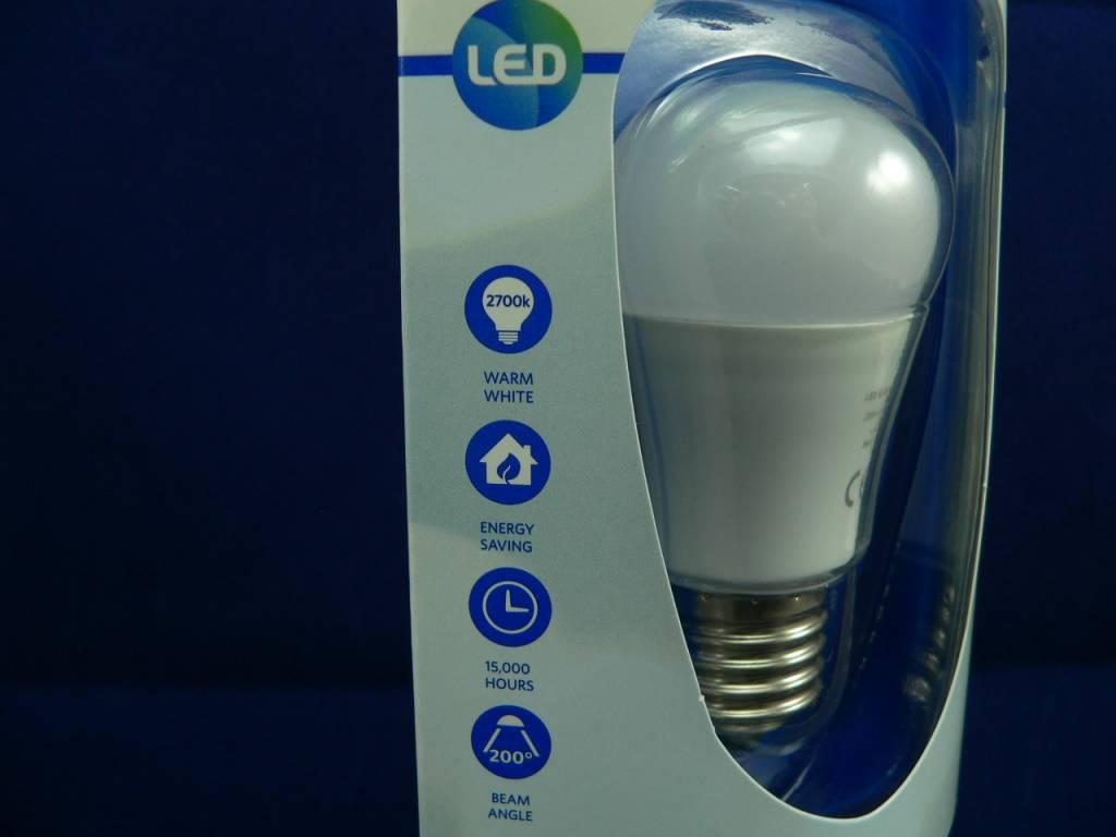 LED-Lampe in Birnen-/Tropfenform, 6W, E27, 220V, 420lm, Warmweiß, dimmbar