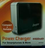 Powerbank, Power Charger, Zusatzakku, Li-Ion 4400mAh, von Energizer UE4402