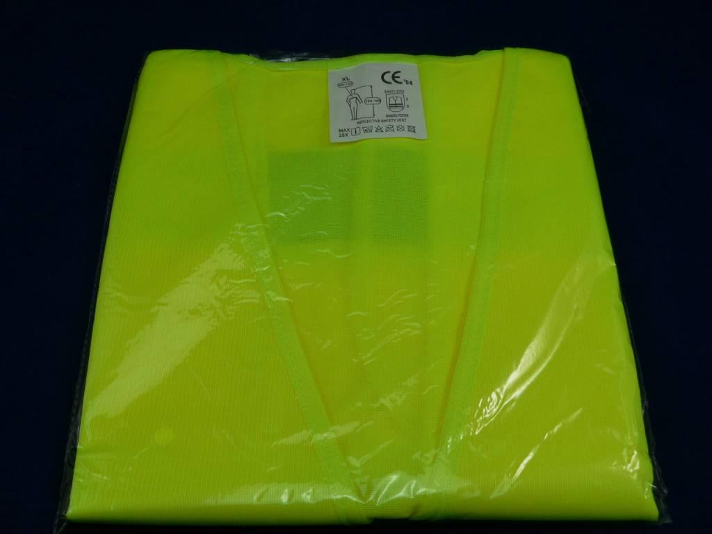Warnweste, Sicherheitsweste, Warnschutzweste EN471-2003 Klasse 2, Universalgröße: XL in neonorange oder neongelb