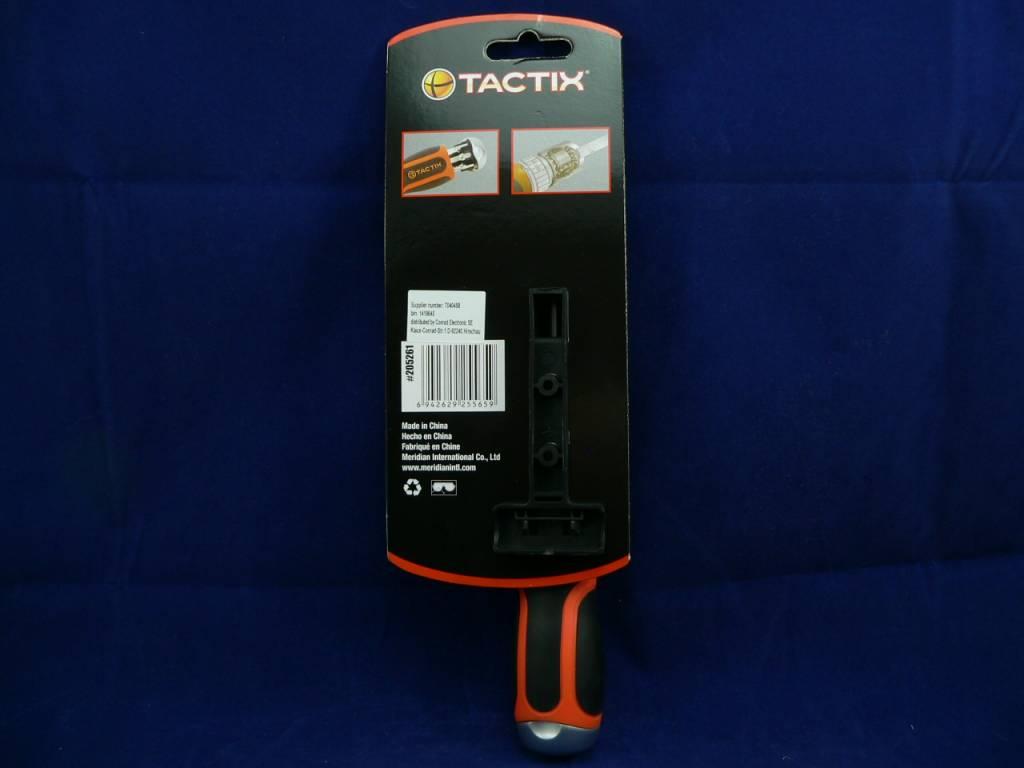 """Ratschen-Schraubendreher 1/4"""" 6,3mm inklusive Bit-Set von Tactix"""