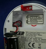 Rauchmelder, Rauchwarnmelder mit 1 Jahres Batterie, DIN EN 14604