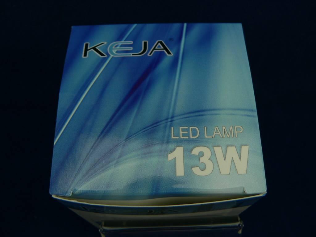 LED-Lampe von Keja in Birnen-/Tropfenform, 13W, E27, 220V, 1040lm, Warmweiß