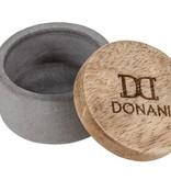 Dirndlspange in Geweihform, in silber, gold oder roségold, von Donani, Tuchspange