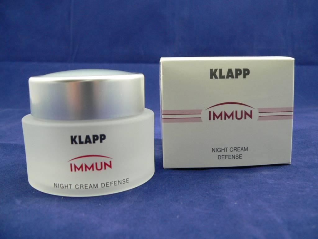 Klapp Immun Night Cream Defense