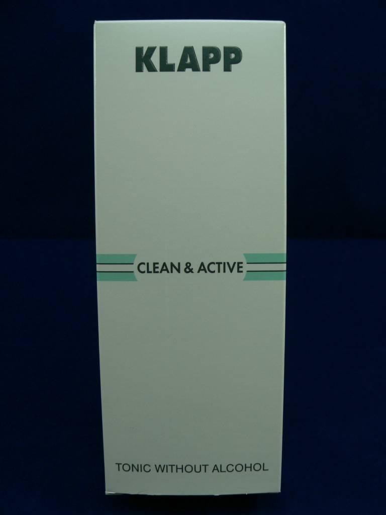 Klapp Clean &. Active Tonic without Alcohol